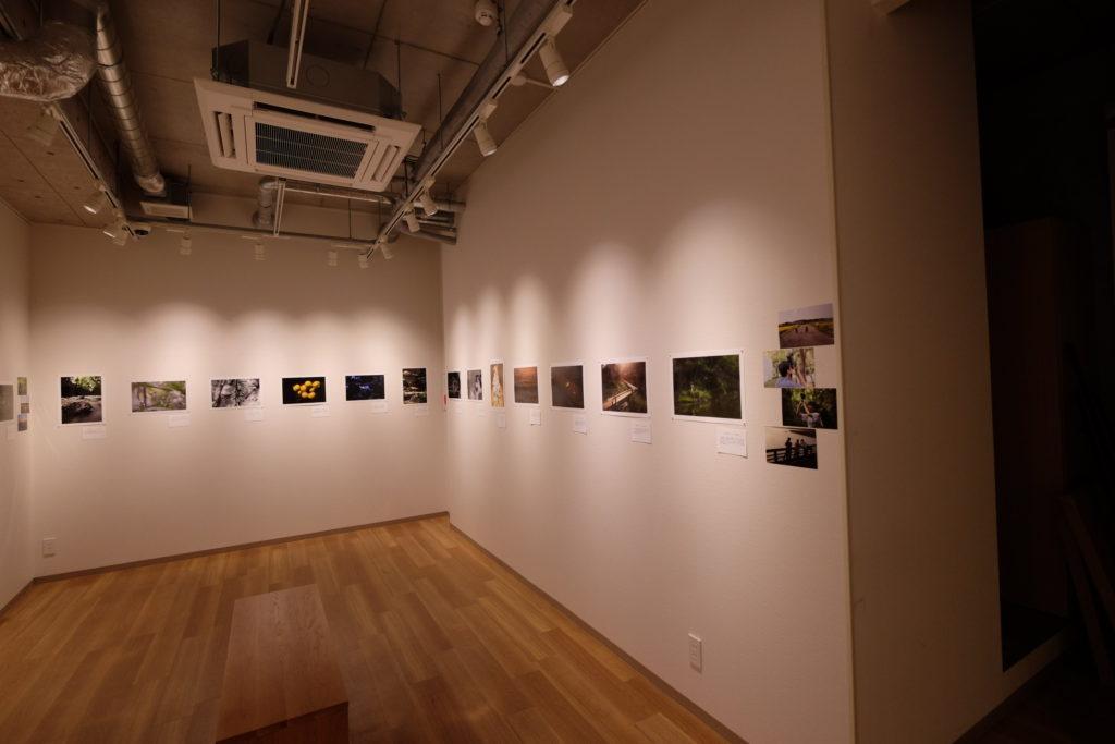 写真展の様子の写真
